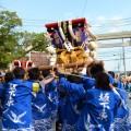 宇夫階神社・塩竃神社 秋の例大祭 太鼓台
