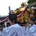宇夫階神社・塩竃神社 秋の例大祭 お神輿