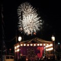 船祭り 花火