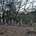長尾大隅守一族の墓
