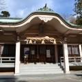 青海神社 拝殿