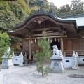 大水上神社 拝殿