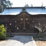 水主神社(みずしじんじゃ)拝殿