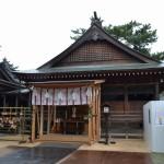 白鳥神社 仮本殿