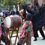 春日神社大祭 庄獅子組