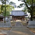 春日神社(丸亀市川西町) 拝殿