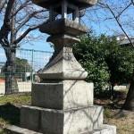 丸亀・金比羅街道 みなと公園 石灯籠