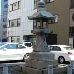 丸亀・金比羅街道 南条町の石灯籠