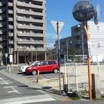 丸亀・金比羅街道 鶏鳴軒の道標