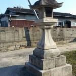 丸亀・金比羅街道 角上組石灯籠