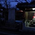 丸亀・金比羅街道 横瀬の石燈籠と地蔵堂