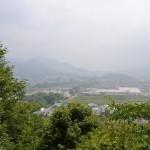 汐木山荒魂神社 拝殿からの景色