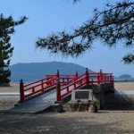 津田の松原 願い橋