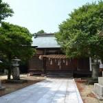 高屋神社 本宮 拝殿