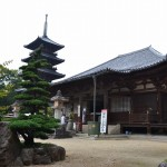 本山寺 本堂 五重塔