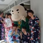 善通寺第一高校文化祭 久次郎さん