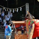 岩部八幡神社秋季大祭 東地獅子組