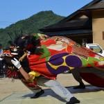 岩部八幡神社秋季大祭 柞野獅子組