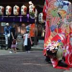 熊野神社秋季大祭 出作本町獅子連中