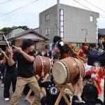 履脱八幡神社 秋季大祭 南草木獅子舞