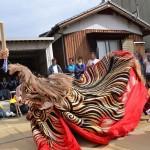 履脱八幡神社 秋季大祭 詫間越獅子舞