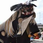 履脱八幡神社 秋季大祭 上獅子舞