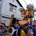 履脱八幡神社 秋季大祭 宿入太鼓台