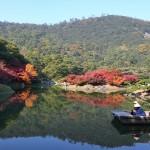 栗林公園 紅葉